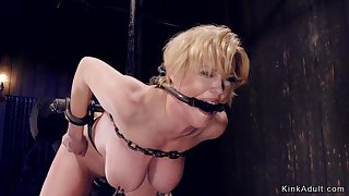 Pledged huge breasts Mother I´d Like To Fuck involving device bondage
