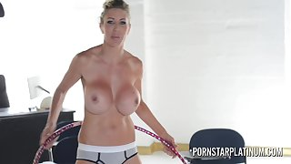 Very Busty mother I´d like upon fuck porn star Puma Swede hula hooping naked