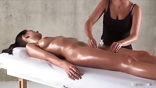 TEEN HOT SENSUAL MASSAGE BEAUTIFUL MODEL Assembly Ornament 3