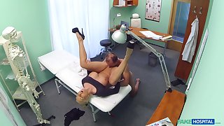 Nude amateur porn with a horny doctor and a adult woman