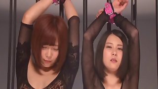 China Matsuoka and Mana Sakura spread their legs be required be worthwhile for oft-times be worthwhile for dicks